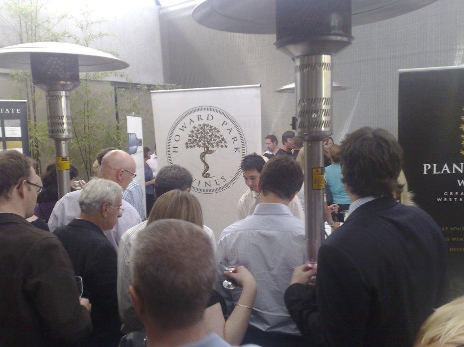 WA Wine Show at Bistro Moncur