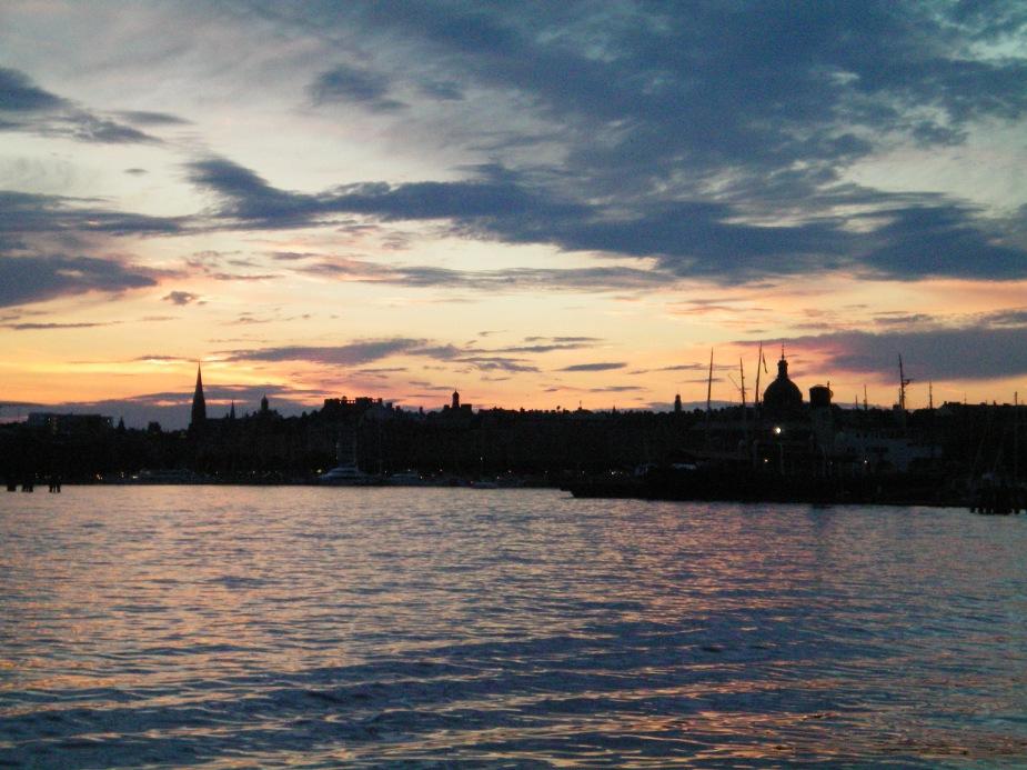 Stockholm at night... memories, like the corner of my mind