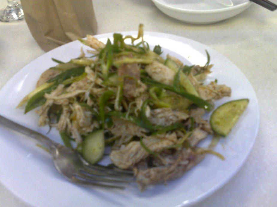 Chicken Salad Dish at See Bay, Sydney