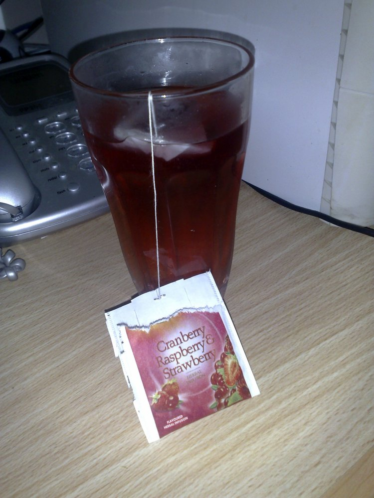 Cranberry, Raspberry and Strawberry herbal infusion