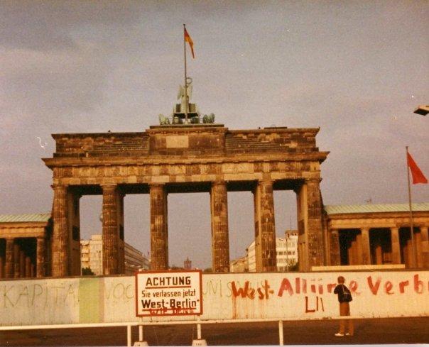 Visiting the Berlin Wall...