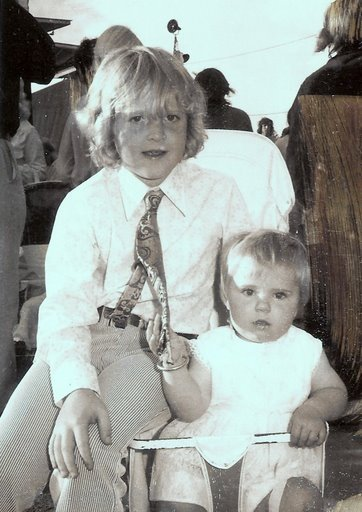 Lismore Show 1975 with Michelle...