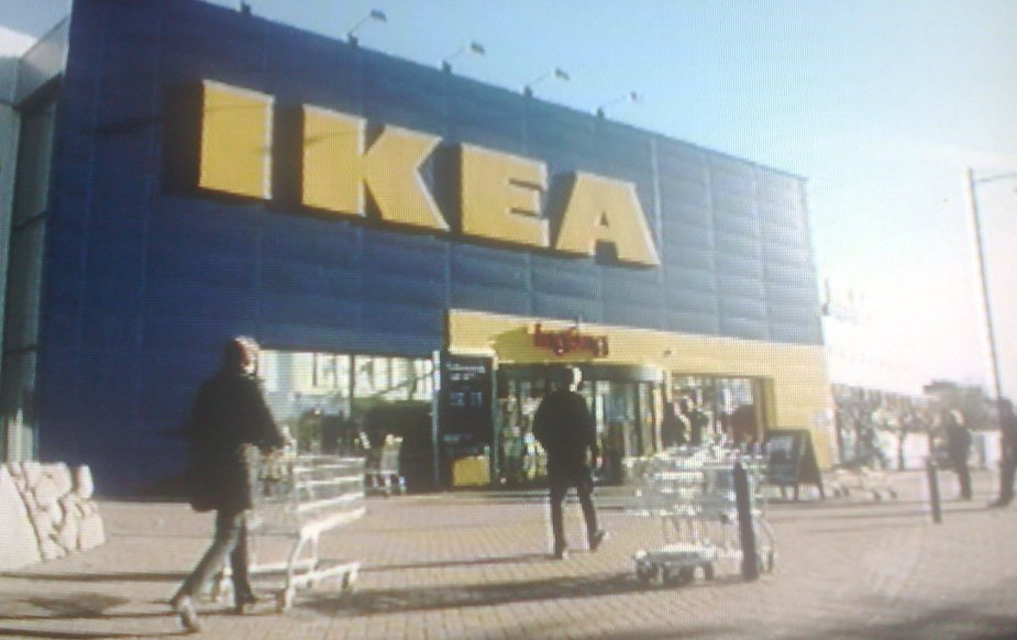 Scene from the program about Sweden on Counter Culture on SBS TV.