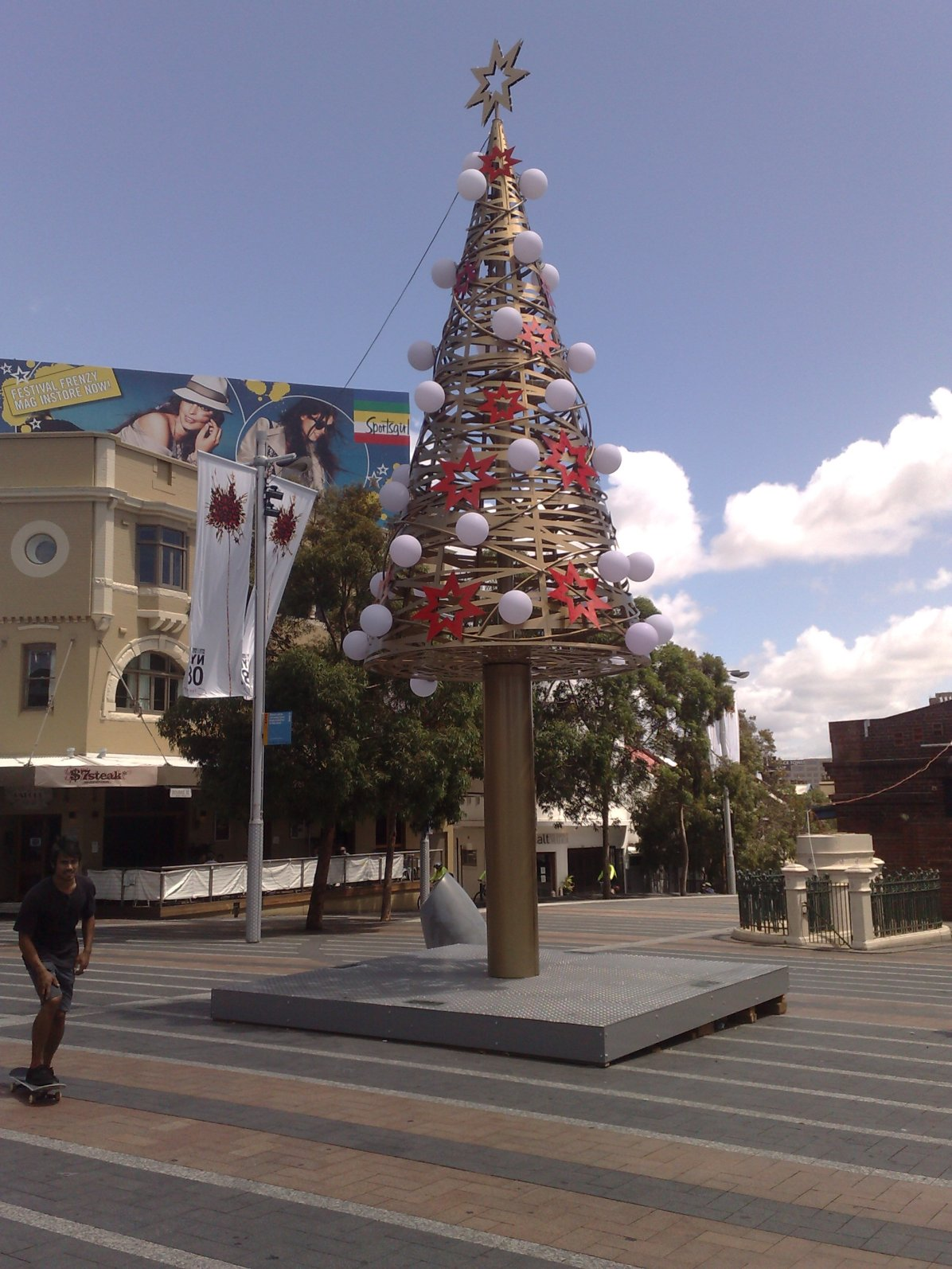Taylor Square Christmas Tree