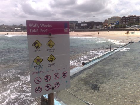 Wally Weeks Tidal Pool at Bondi Beach