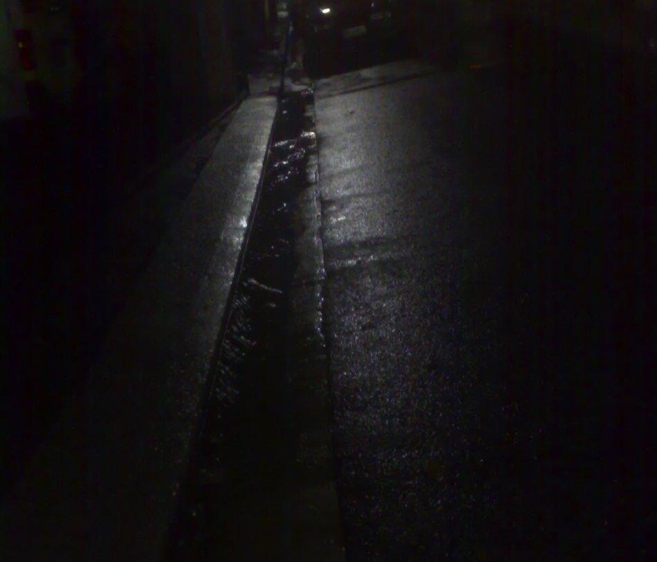 Rainy Night in Surry