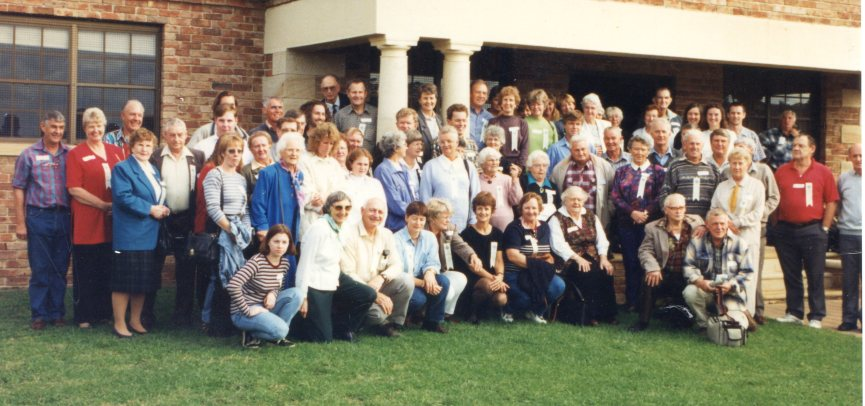 Ambervale Reunion - Benjamin descendants thanks to Joye Walsh