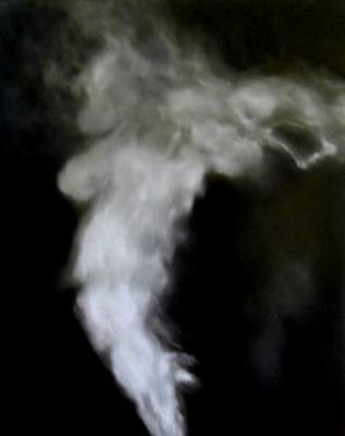 Arryn Snowball Steam #19 Oil on Canvas 2003 150cmx120cm Esa Jaske Gallery 8/3/04