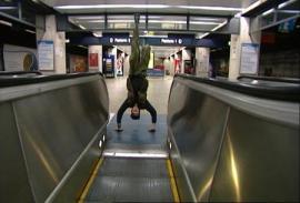 Shaun Gladwell God Speed Verticals-escalator Sequence DVD edition1/4 50 :32 mins Shermans Gallery 20/12/ 04