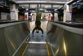 Shaun Gladwell God Speed Verticals-escalator Sequence DVD edition1/4 50 :32 mins Shermans Gallery 20/12/ 04