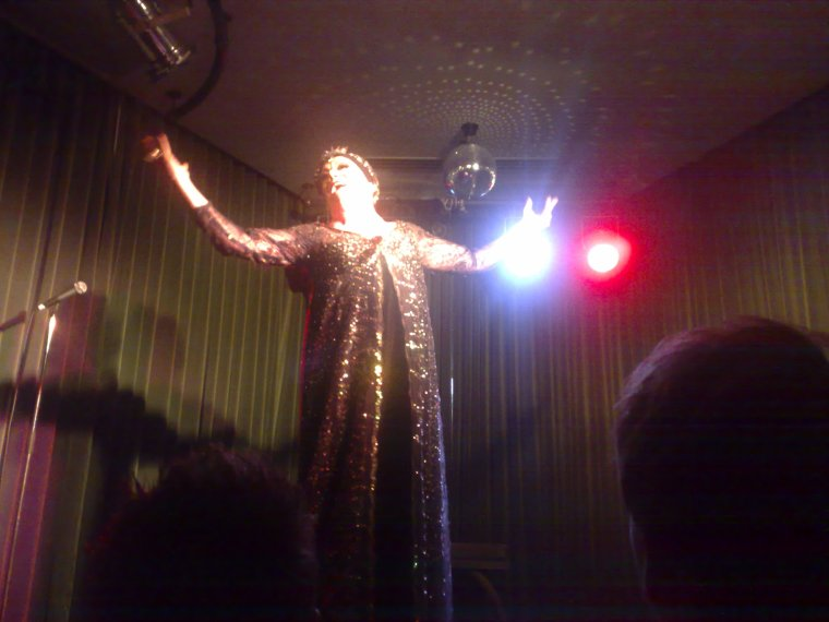 Sunset Boulevarde drag show as part of Bob Downe at Supper Club.