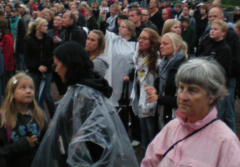 Swedes - they are not all blonde, but a lot of them are!