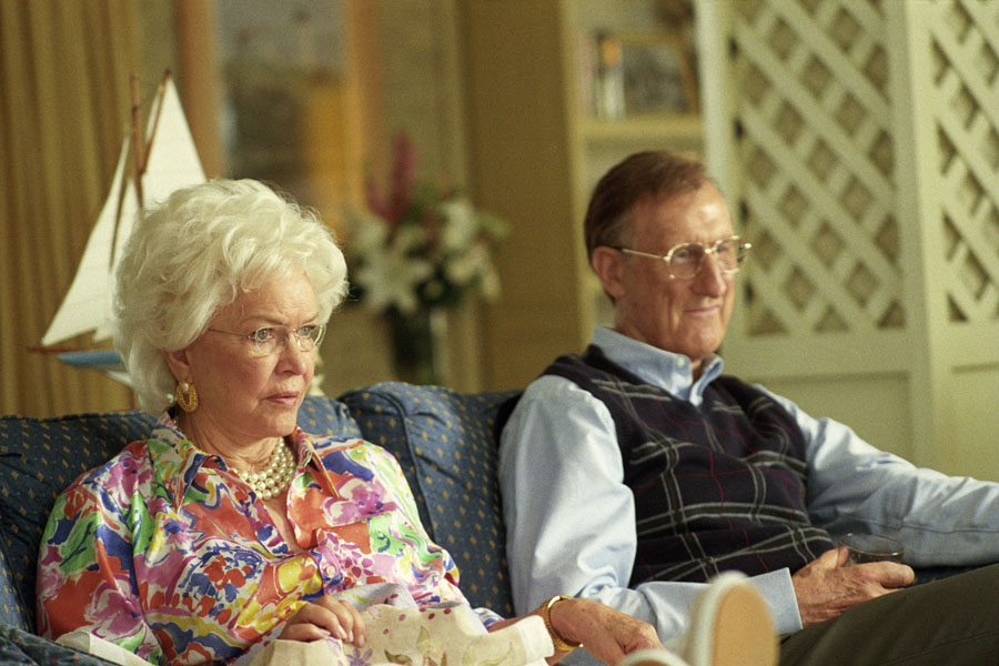 Barbara and George Bush from the movie W.