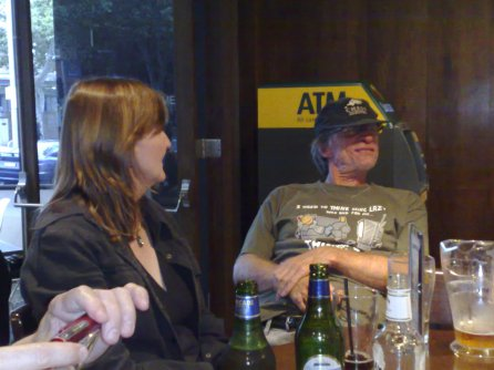 Judy Sawyer and Jeff Roberts