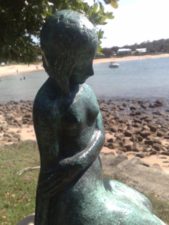 Bundeena Beach Statue