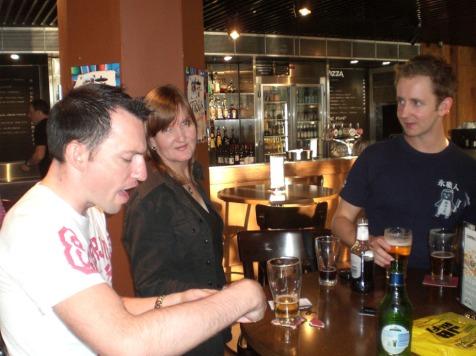 Mikey Lynch, Judy Sawyer, Patrick Blake