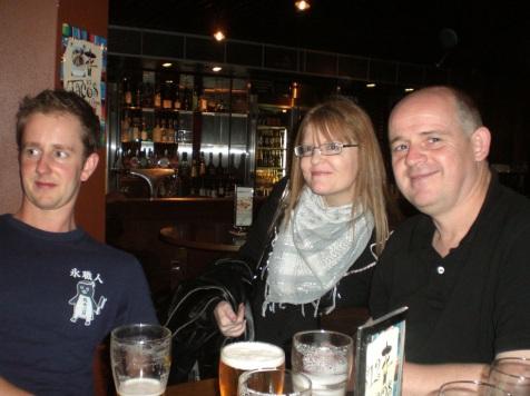 Patrick Blake, Cotton Ward and James O'Brien