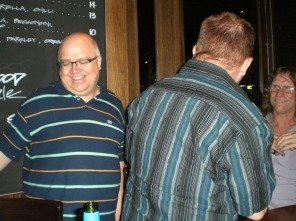 Grant Whittingham, Graeme Read (back) and Greg Roberts