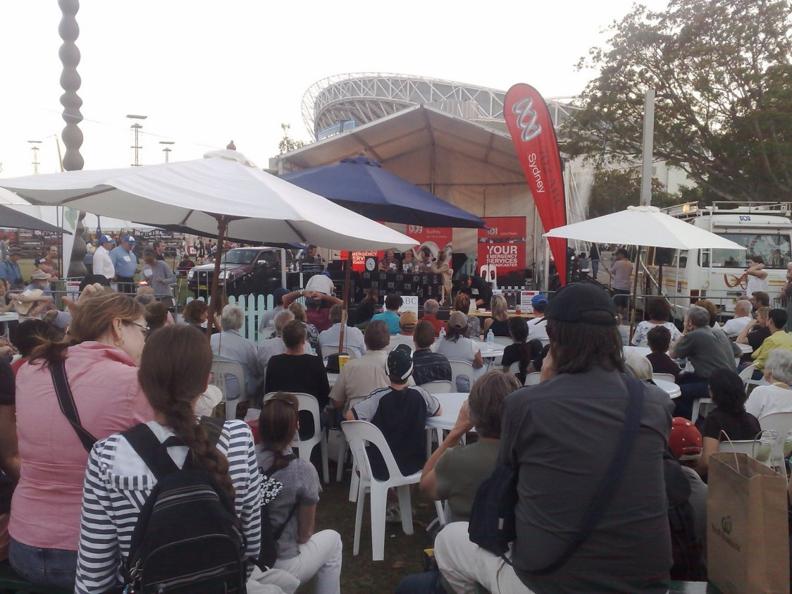 702 ABC Sydney at the Royal Easter Show