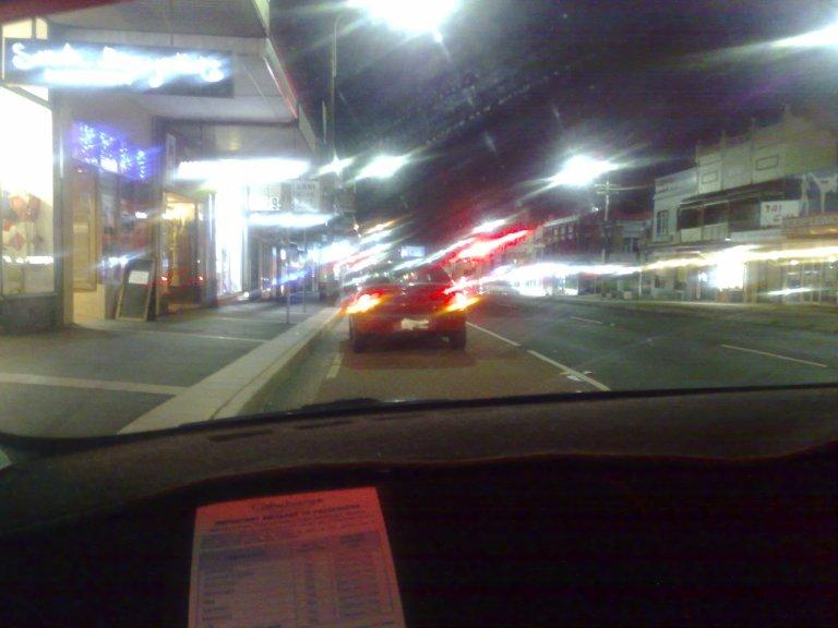 Car Crash on Parramatta Road