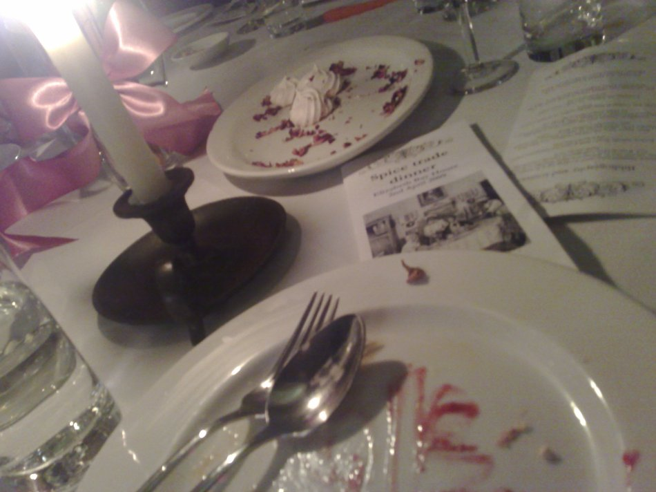 Colonial Spice Dinner at Elizabeth Bay House