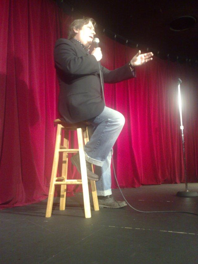 John Moloney, part of Comedy Night at Fox Studios.