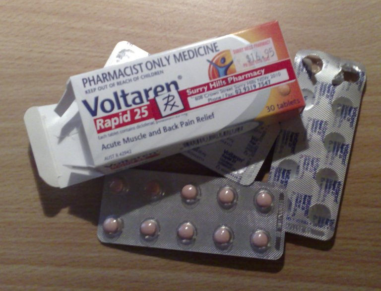 Voltaren for Acute Muscle and Back Pain Relief