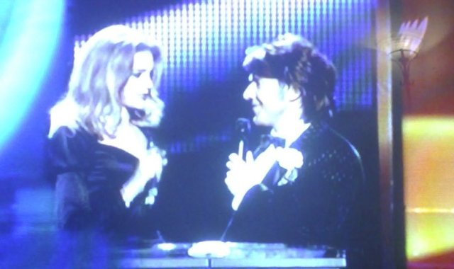 The hosts for Eurovision 2009. Or are Tom and Nicole back together?