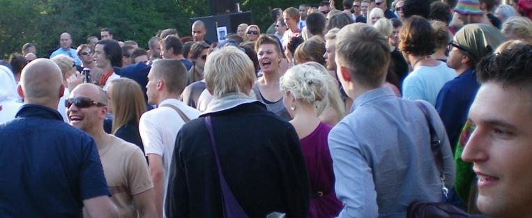 Swedish People in Summer