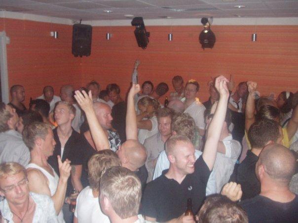 Dance floor at Club LIno in Stockholm