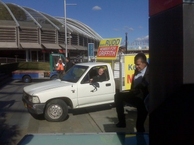 Kevin Rudd's Ute