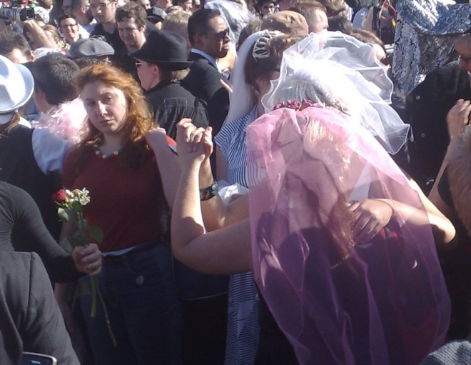 Same Sex Marriage Rally in Sydney 2009