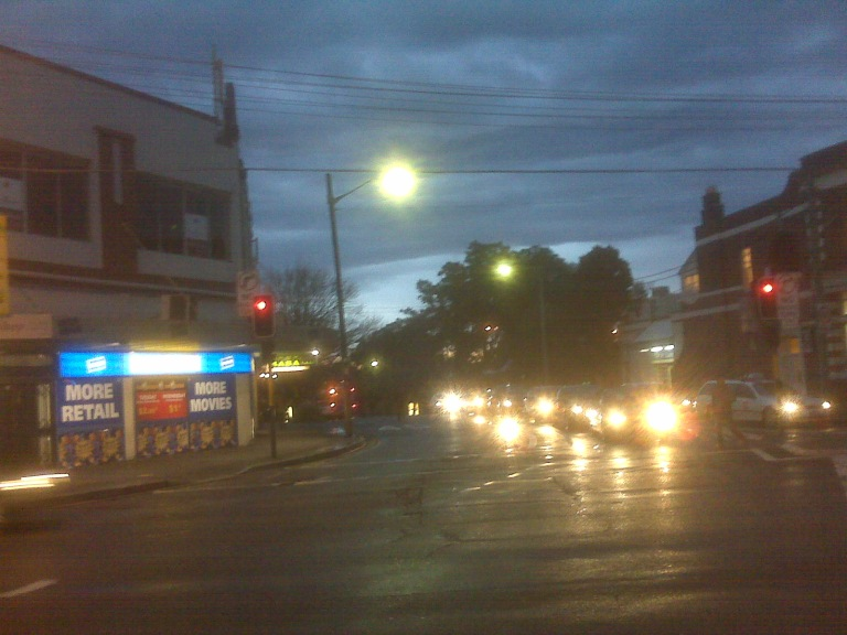 Corner of Baptist, Crown and Cleveland Streets, Surry Hills