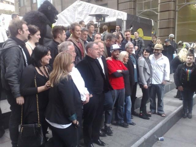 Digital radio launch in Sydney group photo.