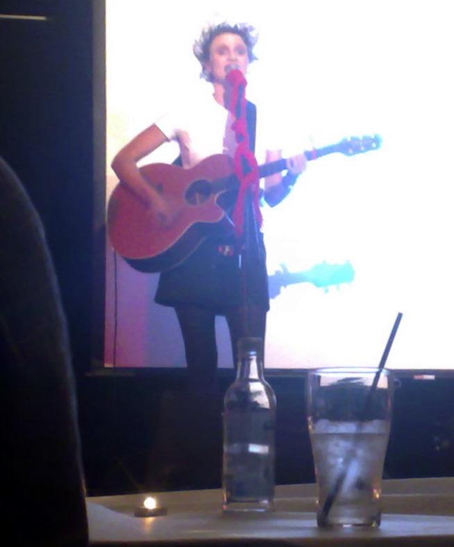 Merri-May Gill performs at Club Bondi Junction