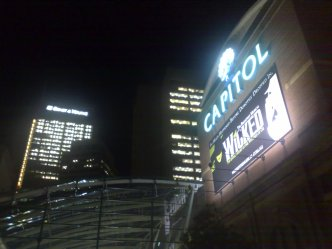 Capital Theatre view from 4A Gallery