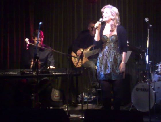 Lucy Durack and Matthew Robinson at The Supper Club