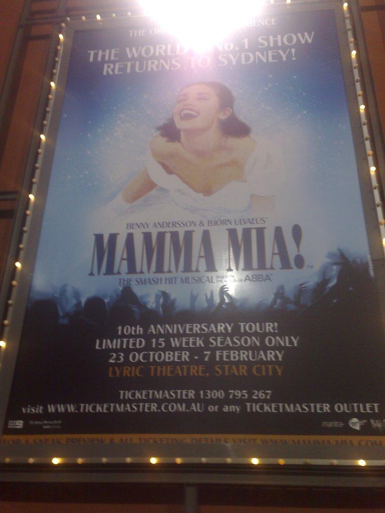 Mamma Mia at Star City