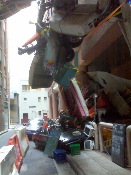 Inaction on Climate Change in Laneways