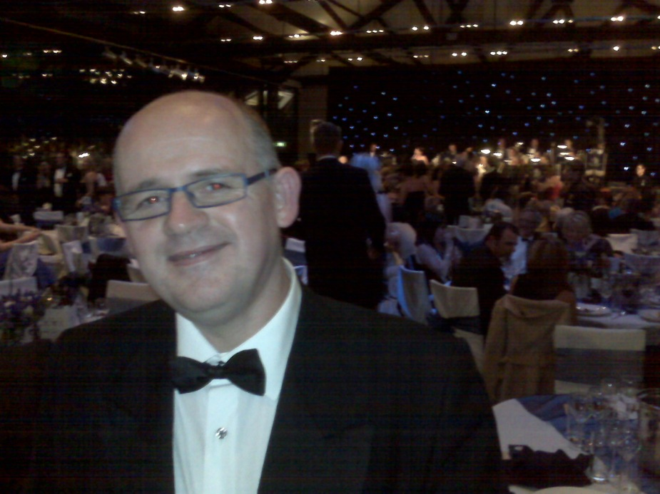 The ball was great fun at a great venue.