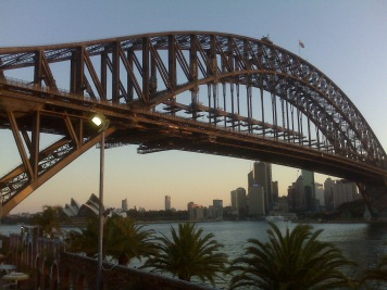 View from Aqua at North Sydney
