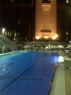 North Sydney Pool as viewed from Aqua