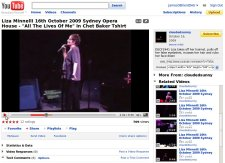 Liza Minnelli Opera House on Youtube: not my videos by the way.