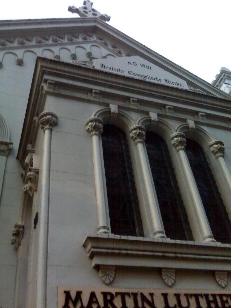 Lutheran Church in Sydney which is also home to Svenska kyrkan i Sydney