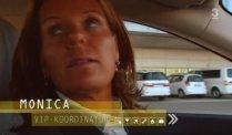 Monica the VIP person from Arlanda Airport from Stockholm-Arlanda
