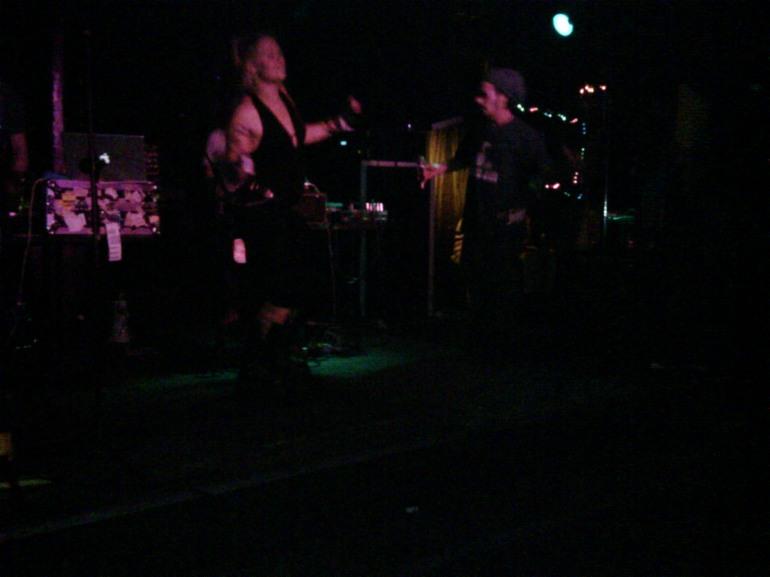 Combat Wombat play at Spectrum, Sydney