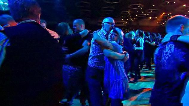 Dansbandskampen - the dancers
