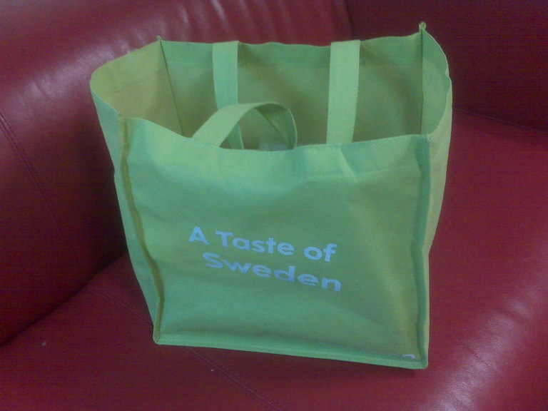 A Taste of Sweden - IKEA Shopping Bag