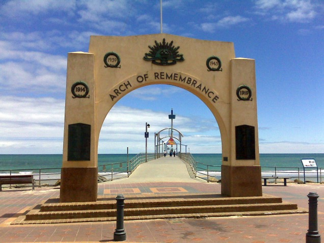 Arch of Rememberance at Brighton