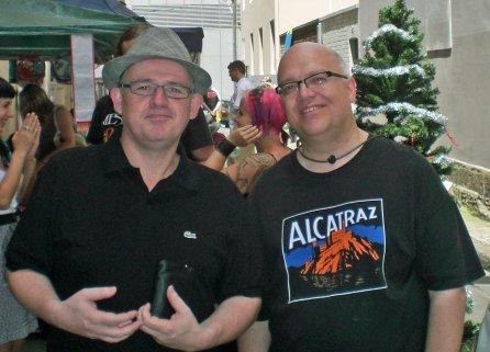 James and Grant at Swedish Bazaar